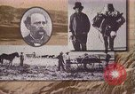 Image of Borax transport by 20 mule teams Death Valley California USA, 1894, second 20 stock footage video 65675040984