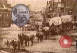 Image of Borax transport by 20 mule teams Death Valley California USA, 1894, second 28 stock footage video 65675040984