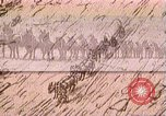 Image of Borax transport by 20 mule teams Death Valley California USA, 1894, second 38 stock footage video 65675040984