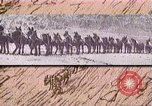Image of Borax transport by 20 mule teams Death Valley California USA, 1894, second 40 stock footage video 65675040984