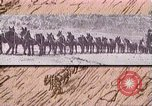 Image of Borax transport by 20 mule teams Death Valley California USA, 1894, second 41 stock footage video 65675040984