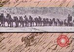 Image of Borax transport by 20 mule teams Death Valley California USA, 1894, second 42 stock footage video 65675040984