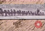 Image of Borax transport by 20 mule teams Death Valley California USA, 1894, second 44 stock footage video 65675040984