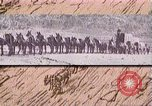 Image of Borax transport by 20 mule teams Death Valley California USA, 1894, second 46 stock footage video 65675040984