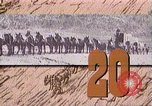 Image of Borax transport by 20 mule teams Death Valley California USA, 1894, second 47 stock footage video 65675040984