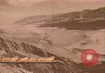 Image of Borax transport by 20 mule teams Death Valley California USA, 1894, second 50 stock footage video 65675040984
