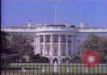 Image of White House United States USA, 1989, second 59 stock footage video 65675040992