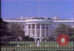Image of White House United States USA, 1989, second 60 stock footage video 65675040992
