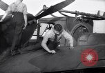 Image of Spitfire plane rearming and refueling United Kingdom, 1940, second 27 stock footage video 65675041012