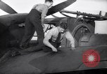 Image of Spitfire plane rearming and refueling United Kingdom, 1940, second 28 stock footage video 65675041012