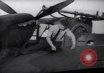 Image of Spitfire plane rearming and refueling United Kingdom, 1940, second 31 stock footage video 65675041012