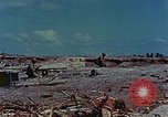 Image of dead Japanese soldiers Eniwetok Atoll Marshall Islands, 1944, second 13 stock footage video 65675041028