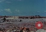 Image of dead Japanese soldiers Eniwetok Atoll Marshall Islands, 1944, second 14 stock footage video 65675041028