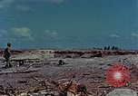 Image of dead Japanese soldiers Eniwetok Atoll Marshall Islands, 1944, second 15 stock footage video 65675041028