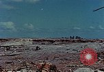 Image of dead Japanese soldiers Eniwetok Atoll Marshall Islands, 1944, second 20 stock footage video 65675041028