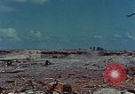 Image of dead Japanese soldiers Eniwetok Atoll Marshall Islands, 1944, second 23 stock footage video 65675041028