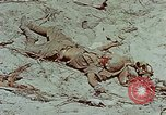 Image of dead Japanese soldiers Eniwetok Atoll Marshall Islands, 1944, second 27 stock footage video 65675041028