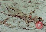 Image of dead Japanese soldiers Eniwetok Atoll Marshall Islands, 1944, second 31 stock footage video 65675041028