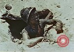 Image of dead Japanese soldiers Eniwetok Atoll Marshall Islands, 1944, second 40 stock footage video 65675041028