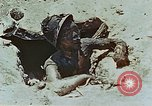 Image of dead Japanese soldiers Eniwetok Atoll Marshall Islands, 1944, second 41 stock footage video 65675041028