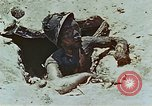 Image of dead Japanese soldiers Eniwetok Atoll Marshall Islands, 1944, second 42 stock footage video 65675041028
