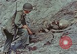 Image of dead Japanese soldiers Eniwetok Atoll Marshall Islands, 1944, second 53 stock footage video 65675041028