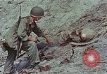 Image of dead Japanese soldiers Eniwetok Atoll Marshall Islands, 1944, second 54 stock footage video 65675041028