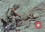 Image of dead Japanese soldiers Eniwetok Atoll Marshall Islands, 1944, second 56 stock footage video 65675041028
