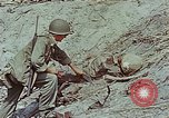 Image of dead Japanese soldiers Eniwetok Atoll Marshall Islands, 1944, second 59 stock footage video 65675041028
