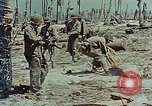 Image of dead Japanese soldiers Eniwetok Atoll Marshall Islands, 1944, second 62 stock footage video 65675041028