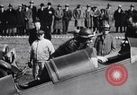 Image of Charles and Anne Lindbergh fly a Lockheed Altair airplane Newark New Jersey USA, 1930, second 23 stock footage video 65675041067