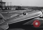 Image of Charles and Anne Lindbergh fly a Lockheed Altair airplane Newark New Jersey USA, 1930, second 35 stock footage video 65675041067