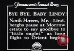 Image of Charles Lindbergh North Haven Maine USA, 1927, second 5 stock footage video 65675041071
