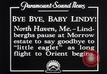 Image of Charles Lindbergh North Haven Maine USA, 1927, second 9 stock footage video 65675041071