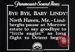 Image of Charles Lindbergh North Haven Maine USA, 1927, second 14 stock footage video 65675041071