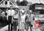 Image of Charles Lindbergh North Haven Maine USA, 1927, second 29 stock footage video 65675041071