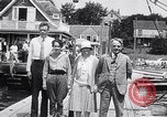 Image of Charles Lindbergh North Haven Maine USA, 1927, second 30 stock footage video 65675041071