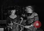 Image of tales of tomorrow fashion show United States USA, 1951, second 51 stock footage video 65675041141
