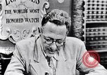 Image of Willey Ley New York United States USA, 1952, second 4 stock footage video 65675041160