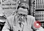 Image of Willey Ley New York United States USA, 1952, second 24 stock footage video 65675041160