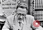Image of Willey Ley New York United States USA, 1952, second 41 stock footage video 65675041160