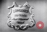 Image of Longines-Wittnauer New York United States USA, 1952, second 5 stock footage video 65675041162