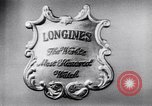 Image of Longines-Wittnauer New York United States USA, 1952, second 6 stock footage video 65675041162