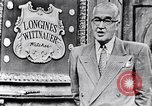 Image of Longines-Wittnauer New York United States USA, 1952, second 28 stock footage video 65675041162