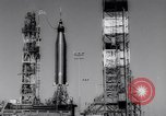 Image of Atlas Missile Cape Canaveral Florida USA, 1961, second 11 stock footage video 65675041167