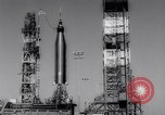 Image of Atlas Missile Cape Canaveral Florida USA, 1961, second 13 stock footage video 65675041167