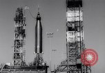 Image of Atlas Missile Cape Canaveral Florida USA, 1961, second 15 stock footage video 65675041167