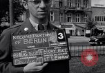 Image of modern store Berlin Germany, 1952, second 2 stock footage video 65675041177