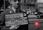 Image of modern store Berlin Germany, 1952, second 4 stock footage video 65675041177