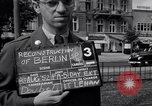 Image of modern store Berlin Germany, 1952, second 5 stock footage video 65675041177